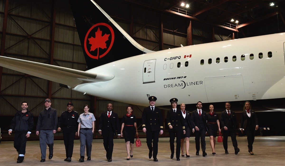 Air Canada Reveals New Uniforms Fully Tested by Staff Over One Year Period